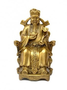 Preciousness Brass Statue Series-God Of Wealth