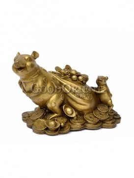 Preciousness Brass Statue Series-Rat