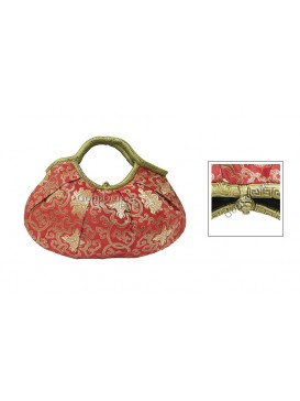 Happiness Floral Brocade Handbag