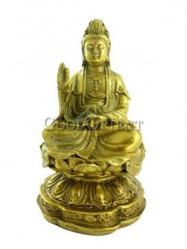Exquisite Brass Statue Series-Guanyin