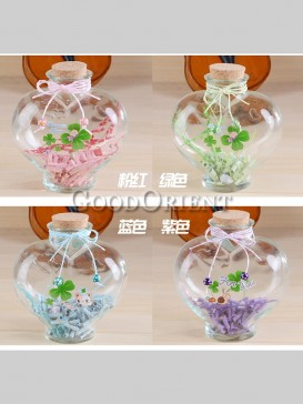 Cretive Flower Drum Wishing Bottle