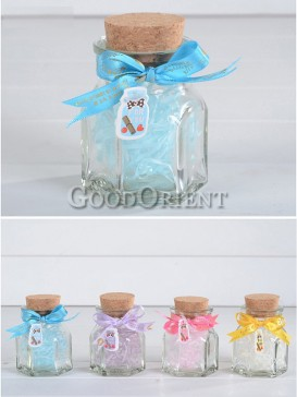 Classical Square Glass Wishing Bottle