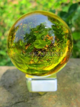 Exquisite Crystal Ball Decoration