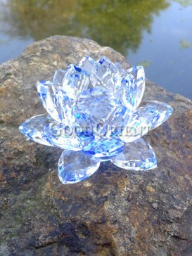 Charming Water Lily Crystal Decoration