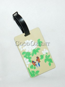 Chinese Style Plastic Card Cover-Peony