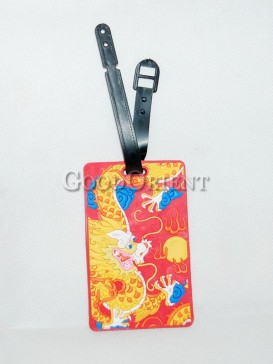 Chinese Style Plastic Card Cover-Dragon