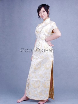 Shining Yellow Cheongsam