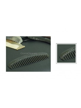 Tibetan Natural Buffalo Horn Carved Comb Gift---Wide Tooth