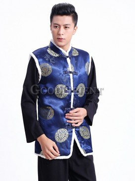 Traditional Longevity vest -Blue