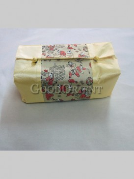 """Chinese Embroidery """"Hundred Children"""" Tissue Box Cover"""