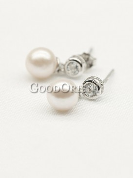 Mabel Chong Pearl Earrings