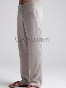Blessing Simple Style Loose Pants