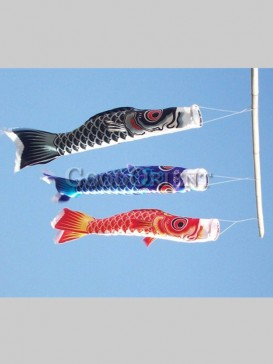 Japanse Style Traditional Koinobori--Medium
