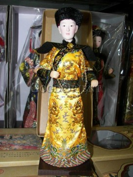 Exquisite Chinese Style Emperor&Queen Dolls