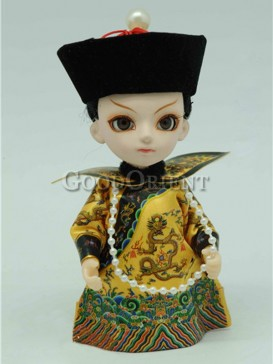 Chinese Style Qing Dynasty Doll-- Emperor