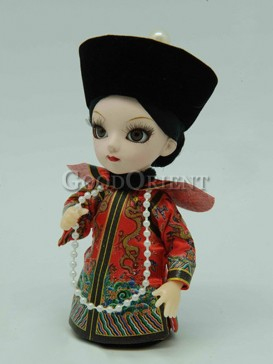 Chinese Style Qing Dynasty Doll-- Queen