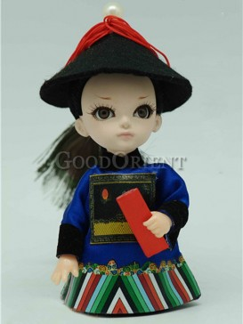 Chinese Style Qing Dynasty Doll--Master