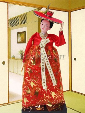 Beautiful Dae Jang Geum Korea Doll Series--Da Changjin