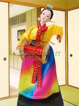 Beautiful Dae Jang Geum Korea Doll Series--Drum