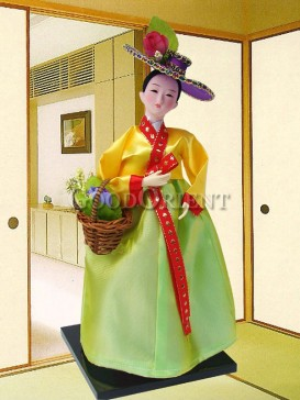 Chic Dae Jang Geum Korea Doll Series--Basket