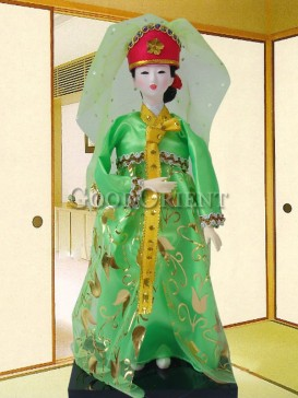 Classical Dae Jang Geum Korea Doll Series--Veil