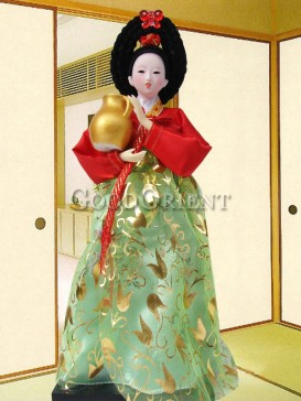 Beautiful Dae Jang Geum Korea Doll Series--Container
