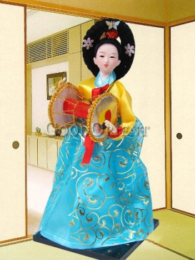 Gorgeous Dae Jang Geum Korea Doll Series--Drum