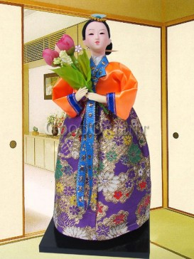 Gorgeous Dae Jang Geum Korea Doll Series--Flower