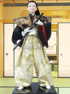 Japanese Style Samurai Doll--Warrior