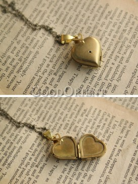 Sweet Heart Shape Customizable Necklace