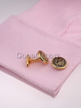 Fashionable Dragon Pattern Shirt Cufflinks