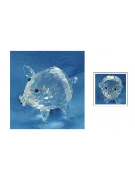 Crystal Piggy Decoration