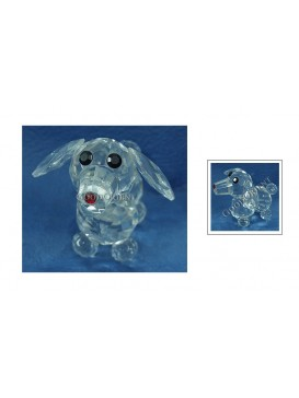 Crystal Puppy Decoration