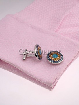 New Style Floral Shirt Cufflinks