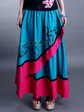 Traditional Asymmetry A-Style Chinese Dress