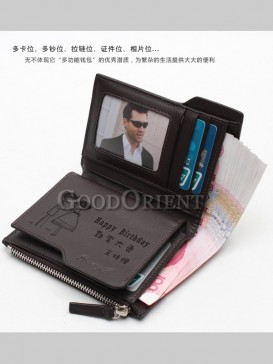 Unique Personality Customizable Wallet