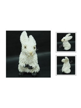 Sea Shell Decoration---White Rabbit