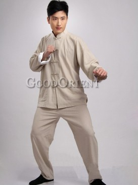 Handsome Simple Chinese Kungfu Suit