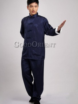 Chinese Blessing Kungfu Matching Suit