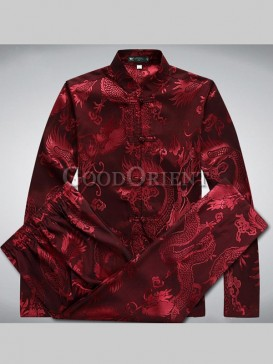 Chinese Dragon Series Kungfu Matching Suit