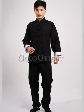 Chinese Style Cotton Kungfu Pants