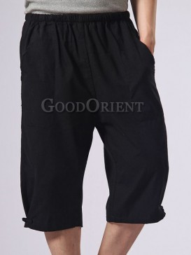 Asian Style Cotton Kungfu Pants