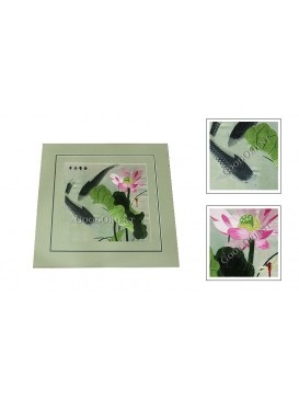 Chinese Lotus and Cyprinoid Embroidery
