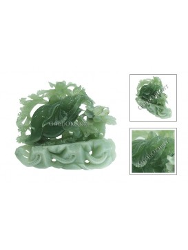 Jade Elephant Decoration