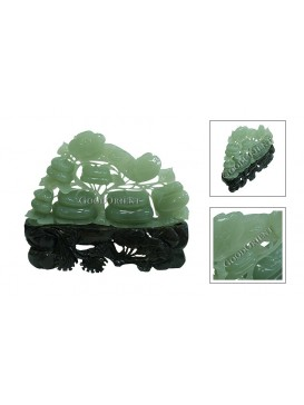 Feng Shui Jade Ru Yi Decoration