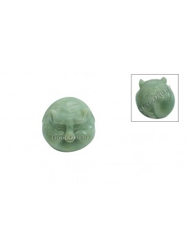 Jade Pig Decoration