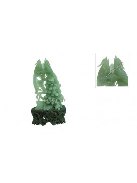 Jade Grape Decoration
