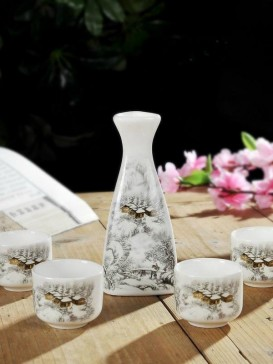 Japanese Sake Sets--Snow House