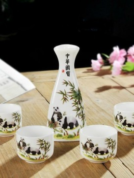 Japanese Sake Sets--Panda