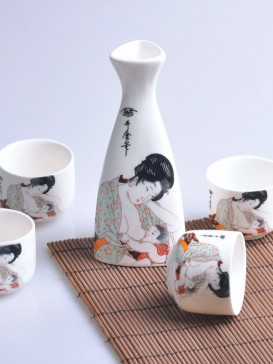 Japanese Sake Sets--Family